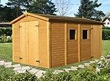 Box Casitas de madera caseta de jardín de madera de abeto...
