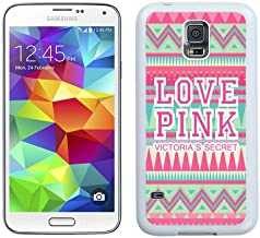 Love Pink VS White Samsung Galaxy S5 I9600 Shell Phone Case,Nice Look