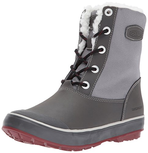 KEEN Women's Elsa WP Boot, Beluga, 5.5 M US