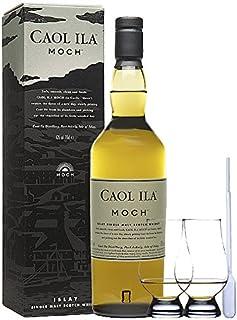 Caol Ila Moch Single Malt Whisky 0,7 Liter  2 Glencairn Gläser und Einwegpipette