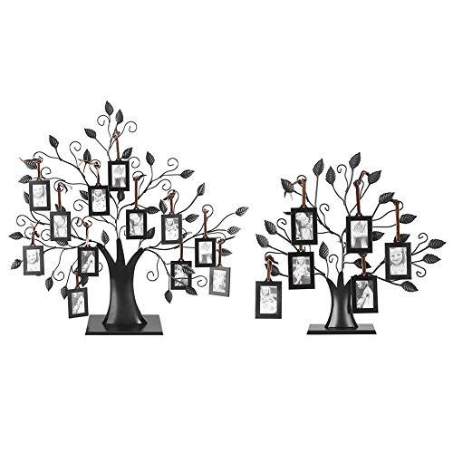 Tarente Modische Familien Fotos Bild-Anzeige Baum mit hängenden Bildern Frames Home Decor