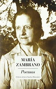 POEMAS par Maria Zambrano