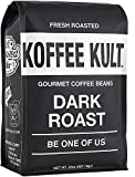 Koffee Kult Coffee Beans Dark Roasted - Highest Quality Delicious Organically Sourced Fair Trade -...
