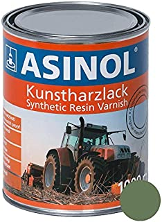 ASINOL FENDT GRÜN BIS 1988 1000 ml Kunstharzlack Farbe Lack 1l Liter Dose