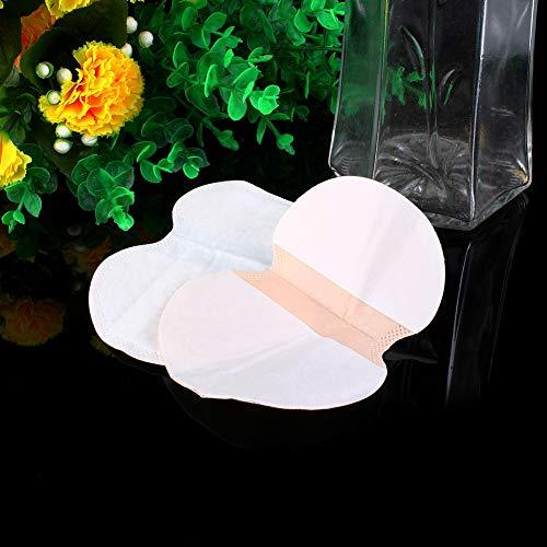 Pegatina para el sudor en las axilas, almohadillas para el sudor en las axilas, papel desechable de verano unisex Airlaid 8x9.5x12.2cm Telas no tejidas 10ml Absorción de agua