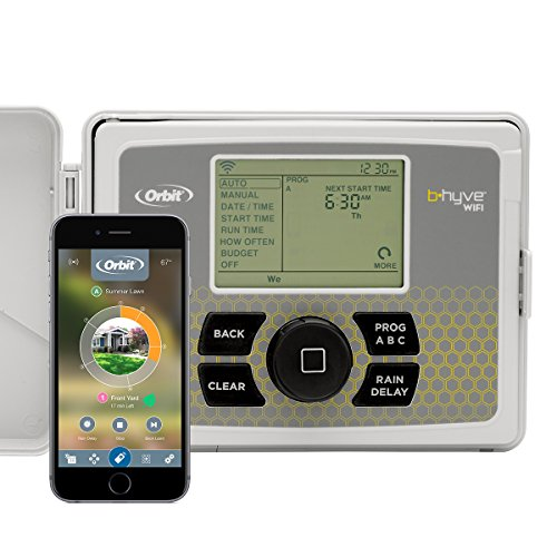Orbit B-hyve Smart 6-Station WiFi Sprinkler System Controller