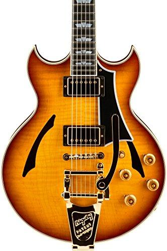 GIBSON JOHNNY A. CUSTOM SIGNATURE SUNSET GLOW + BIGSBY + KOFFER E-Gitarren Custom Shop