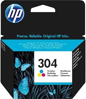 HP 304 Tricromia (N9K05AE) Cartuccia Originale per Stampanti HP a Getto di Inchiostro, Compatibile con Stampanti HP DeskJe...