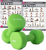 KG Physio Dumbbells Set Of 2 Weights (sold as a pair) A3 Poster - Weights available - 1Kg, 2Kg, 3Kg, 4Kg, 5Kg, 6kg, 8kg,...