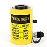 20T 2inch manual / pie / bomba de aceite eléctrica Cilindro hidráulico Jack 44000LBS Bomba de aceite Cilindro hidráulico Jack