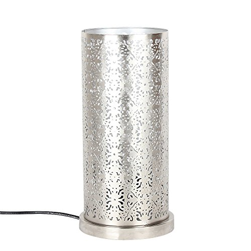 albena shop 73-633 orientalische Tischlampe (Lakia silber)