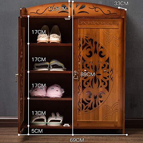 ZTMN Einzigartige Designermöbel handgefertigte solide Sideboard Kommode ||Land Design |Kommode |(Farbe: 02, Größe: 69 * 33 * 89 cm)