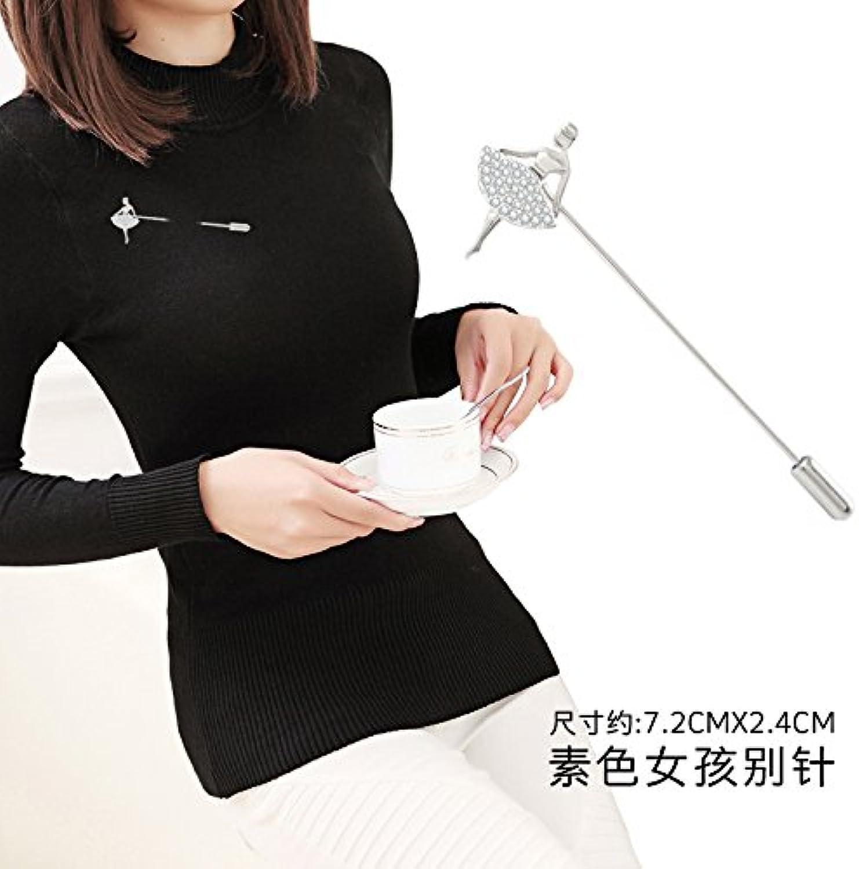 Romantic Small pin Scarf Buckle Collar pin Brooch pin Badge Corsage Collar Buckle Collar Shirt Women Girls Clip Jewelry