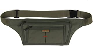 Slim Sport Polyester Stealth Small Running Travel Waist Bag with D Clip