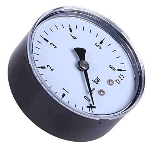 Luftdruckmesser Meter Luftdruck Kompressor Hydraulik 6 Bar 1/4