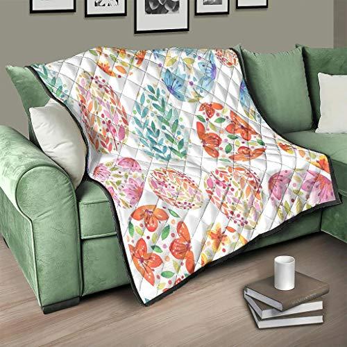 AXGM Colcha para el salón, suave y cálida, para televisión, color blanco, 180 x 200 cm