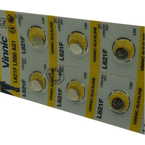 Otech Pack de 10 Piles Vinnic 4898338000634