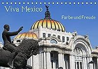 Viva Mexiko - Farben und Freude (Tischkalender 2022 DIN A5 quer): Lateinamerika ohne Mexiko ist wie ein Vogel ohne Fluegel. Die Lebensfreude sprudelt in endlosen Farben und das Leben geht trotz taeglichen Hiobsbotschaften froehlich und farblich weiter. Liebe und Leidenschaft sind allgegen (Monatskalender, 14