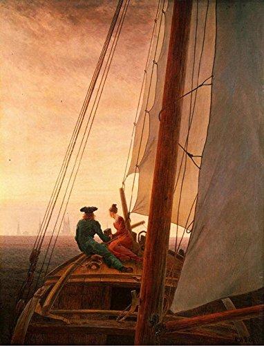 Das Museum Outlet–auf einem Segelschiff (1819)–A3Poster