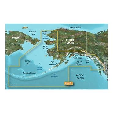Garmin VUS517L BlueChart Vision Alaska South SD, 010-C0887-00