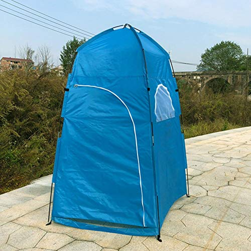 Pop Up Privacy Shower Tent Durable Waterproof Camping Tents Easy Setup for Camp Toilet Changing Dressing Room+ Carrying Bag