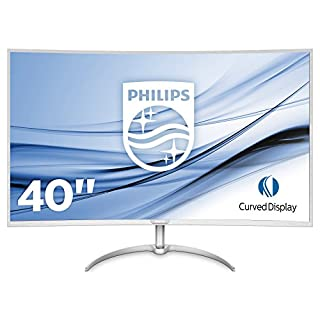 "Philips BDM4037UW/00 Moniteur 101cm (40"") (VGA, 2x HDMI, 2x DisplayPort, 4x USB 3.0, 3840x 2160, 60Hz, 4ms, incurvé) Argenté (B01MSYXDC7) | Amazon price tracker / tracking, Amazon price history charts, Amazon price watches, Amazon price drop alerts"