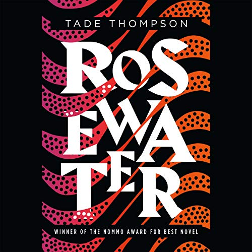 Rosewater audiobook cover art