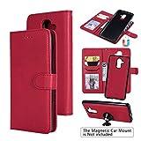 Samsung J8 Case, Samsung Galaxy J8 Case, UDIKEFO 2-in-1...