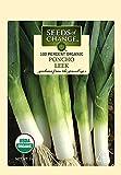 Seeds of Change Certified Organic Poncho Leek Seeds