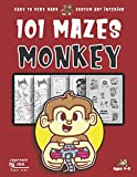 monkey maze book for kids ages 4-8: 101 puzzle pages. custom art interior. cute fun gift! super kidz. videogame controller.