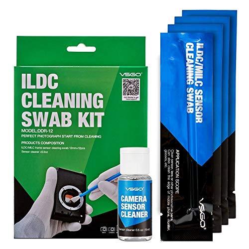 Kit de Limpieza vsgo para M4/3 12 Swab + 15 ml Sensor Cleane