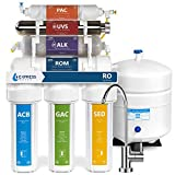 Express Water Alkaline Ultraviolet Reverse Osmosis Water Filtration System – 11 Stage RO UV...