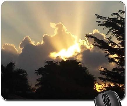 Mouse Pad - Sunrise Amanecer Clouds Nubes Nature Sky