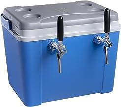 Chopeira a Gelo Lavita caixa 34l - azul com serpentina em alumínio 2 vias sem torneira
