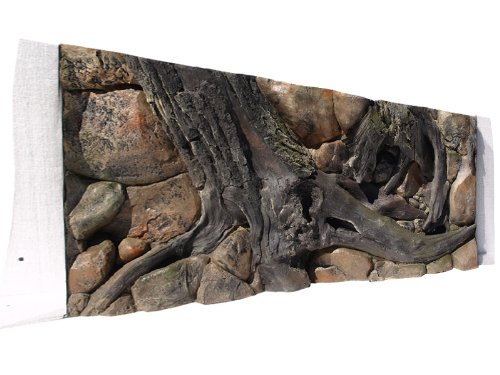 ABG089 Rückwand zum Aquarium und Terrarium 3D Amazonas 150x60 1-teilig bei Robizoo