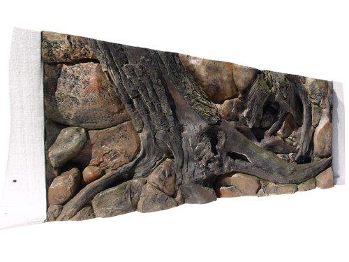 ABG085 Rückwand zum Aquarium und Terrarium 3D Amazonas 120x60 bei Robizoo