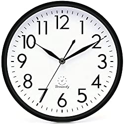 Blocks to the Future Sleek Silver Frame-14 Fashion Wall Clock