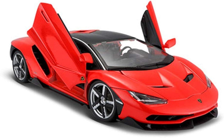 Felices compras JTWJ Modelo De Coche 1 1 1 18 Simulación De Aleación Modelo De Coche Deportivo, Tamaño  27.5X12.8X6.2CM (Color   rojo)  Precio al por mayor y calidad confiable.