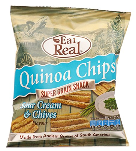 Quinoa Sour Cream Chive Chips