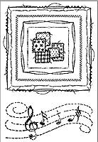 11x16麻雀テーブルDIYスクラップブッキングフォトアルバム用透明クリアシリコンスタンプシール装飾クリアスタンプ