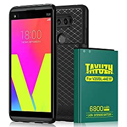 top 10 v20 battery case LG V20 Battery | Replacement Lithium Ion TAYUZH 6800mAh Battery for LG V20 with Large Capacity Replaceable Back Cover…