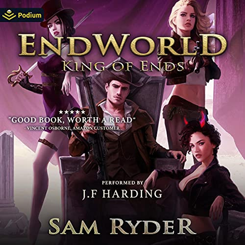 King of Ends Audiobook By Sam Ryder cover art