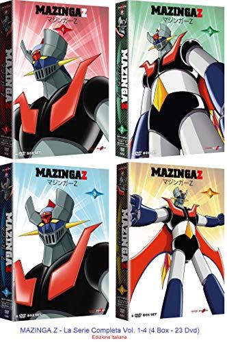MAZINGA Z - Vol. 1+2+3+4 (23 Dvd) Ed. Italiana