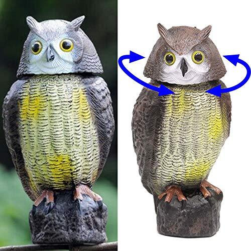 Suppyfly Defenders Wind Action Owl Lockvogel afschrikking vogels Scarer Repeller voor tuin