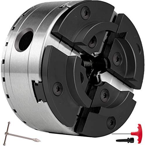 Husuper 4- Mandril de Mandíbula para Máquina de Torneado Torno M33 MX-125, Mandíbula para Torno de Madera de Alta Resistencia Adaptabilidad y Precisión Mandril para Torno de Madera 45 mm - 98 mm