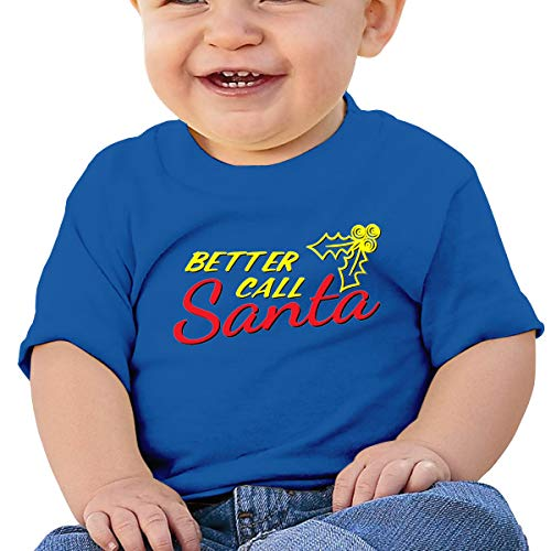 Better Call Saul Santa Christmas Baby T-Shirt,Baby T Shirts 6-24 Months