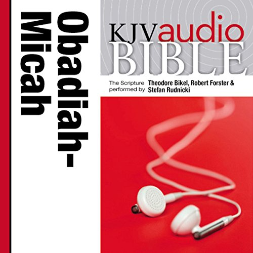 Pure Voice Audio Bible - King James Version, KJV: (24) Obadiah, Jonah, and Micah cover art