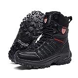 ZED- Botas Tácticas Militares de Hombre Ultraligero, Botas Jungle Combat, Zapatos de Trabajo y...