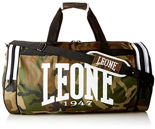 Leone 1947 Camouflage Sporttasche, Camo-Grün, Einheitsgröße