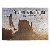 Puzzle Personalizzato con foto - Idea Regalo - 20x29 cm - 192 Tasselli (A4)